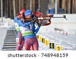 kontiolahti  finland   march 5  ... | Shutterstock . vector #748948159