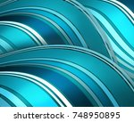 Abstract Waves Background...