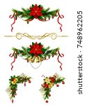 christmas elements for your... | Shutterstock .eps vector #748962205