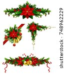 christmas elements for your... | Shutterstock .eps vector #748962229