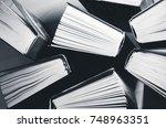 books | Shutterstock . vector #748963351