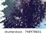 abstract background with stars. ... | Shutterstock . vector #748978831