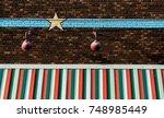 downtown nashville facade   Shutterstock . vector #748985449