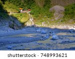 scenery of changchun temple... | Shutterstock . vector #748993621