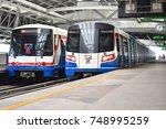 bangkok   april 29  the bangkok ... | Shutterstock . vector #748995259