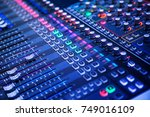 professional sound and audio... | Shutterstock . vector #749016109