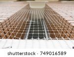bird netting   anti bird... | Shutterstock . vector #749016589