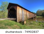 An Historic Covered Bridge At...