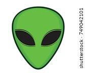 alien   vector | Shutterstock .eps vector #749042101