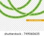 christmas traditional... | Shutterstock .eps vector #749060635