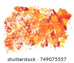 a vector background with... | Shutterstock .eps vector #749075557