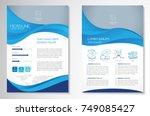 template vector design for... | Shutterstock .eps vector #749085427