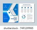 annual report  broshure  flyer  ... | Shutterstock .eps vector #749139985