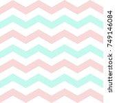soft colored chevron zigzag...   Shutterstock .eps vector #749146084