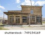 bodie  california  usa   august ...   Shutterstock . vector #749154169