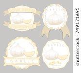 vector illustration logo for... | Shutterstock .eps vector #749171695