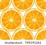 vector seamless pattern from... | Shutterstock .eps vector #749191261