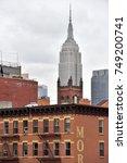 new york city  usa   aug. 29  ... | Shutterstock . vector #749200741