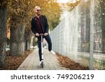 bearded man | Shutterstock . vector #749206219