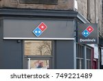 edinburgh  united kingdom. 17...   Shutterstock . vector #749221489