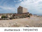 st. mary magdalene chapel ... | Shutterstock . vector #749244745