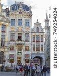 brussels  belgium  25 june 2015 ... | Shutterstock . vector #749254024