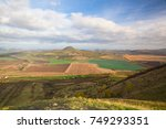 view from the top of rana hill. ... | Shutterstock . vector #749293351