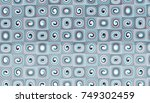 abstract digital fractal... | Shutterstock . vector #749302459