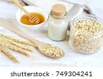 natural ingredients for... | Shutterstock . vector #749304241