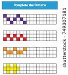 education logic game for... | Shutterstock .eps vector #749307181