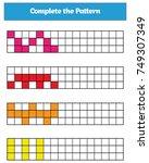 education logic game for... | Shutterstock .eps vector #749307349