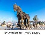 canakkale  turkey   july 21 ... | Shutterstock . vector #749315299