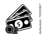 money icon   Shutterstock .eps vector #749322847