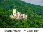 stolzenfels castle at rhine... | Shutterstock . vector #749331109