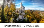 germany famous view of... | Shutterstock . vector #749333101