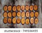 Wood Runes Handmade Fur Are...
