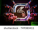 saint petersburg  russia  ... | Shutterstock . vector #749383411