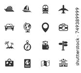 travel vector icons for your... | Shutterstock .eps vector #749389999