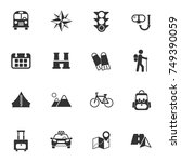 travel vector icons for your... | Shutterstock .eps vector #749390059