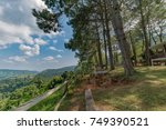 panoramic view at khao kho... | Shutterstock . vector #749390521