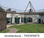 Civil War Fort On The Savannah...