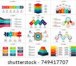 vector arrows infographic ... | Shutterstock .eps vector #749417707