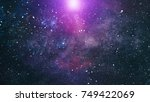 star dust and pixie dust... | Shutterstock . vector #749422069