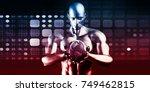 system integration solutions as ... | Shutterstock . vector #749462815