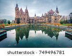 moszna  poland   october 24 ... | Shutterstock . vector #749496781