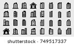company icons  building vector...   Shutterstock .eps vector #749517337