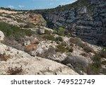 rocks on the island of malta ... | Shutterstock . vector #749522749