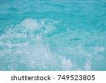 water spa in jacuzzi pool | Shutterstock . vector #749523805