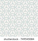 vector seamless pattern and... | Shutterstock .eps vector #749545084