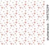 vector seamless pattern....   Shutterstock .eps vector #749570299